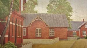 Det første forsamlingshus i Aale.