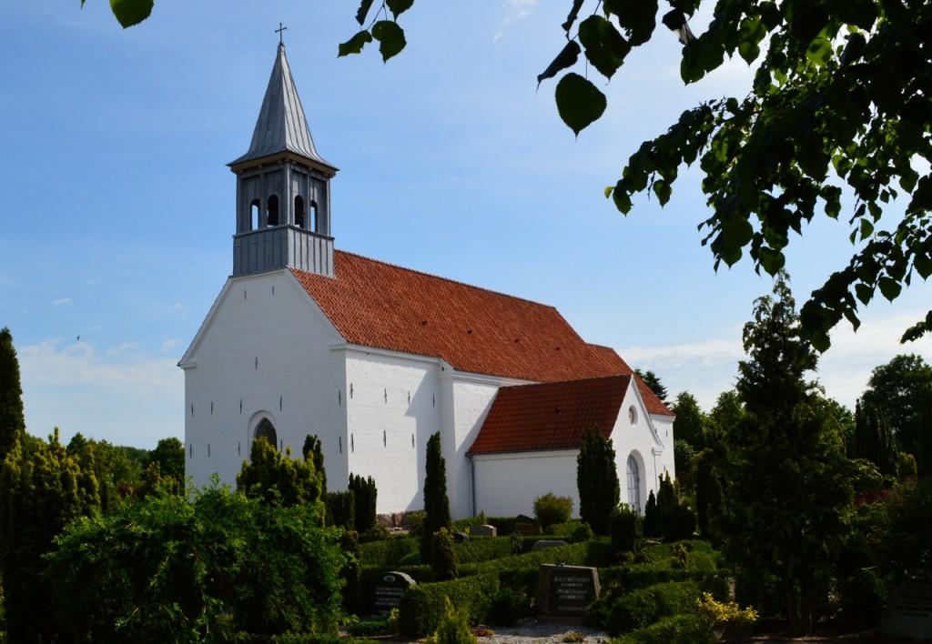 Løsning gamle Kirke udefra