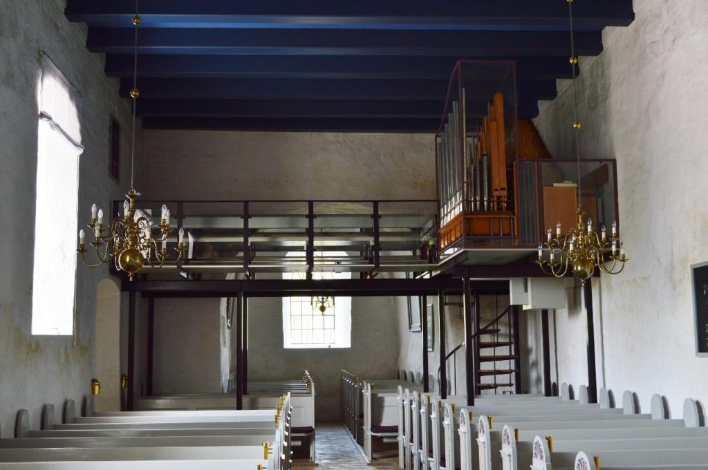 Løsning gl kirke pulpitur