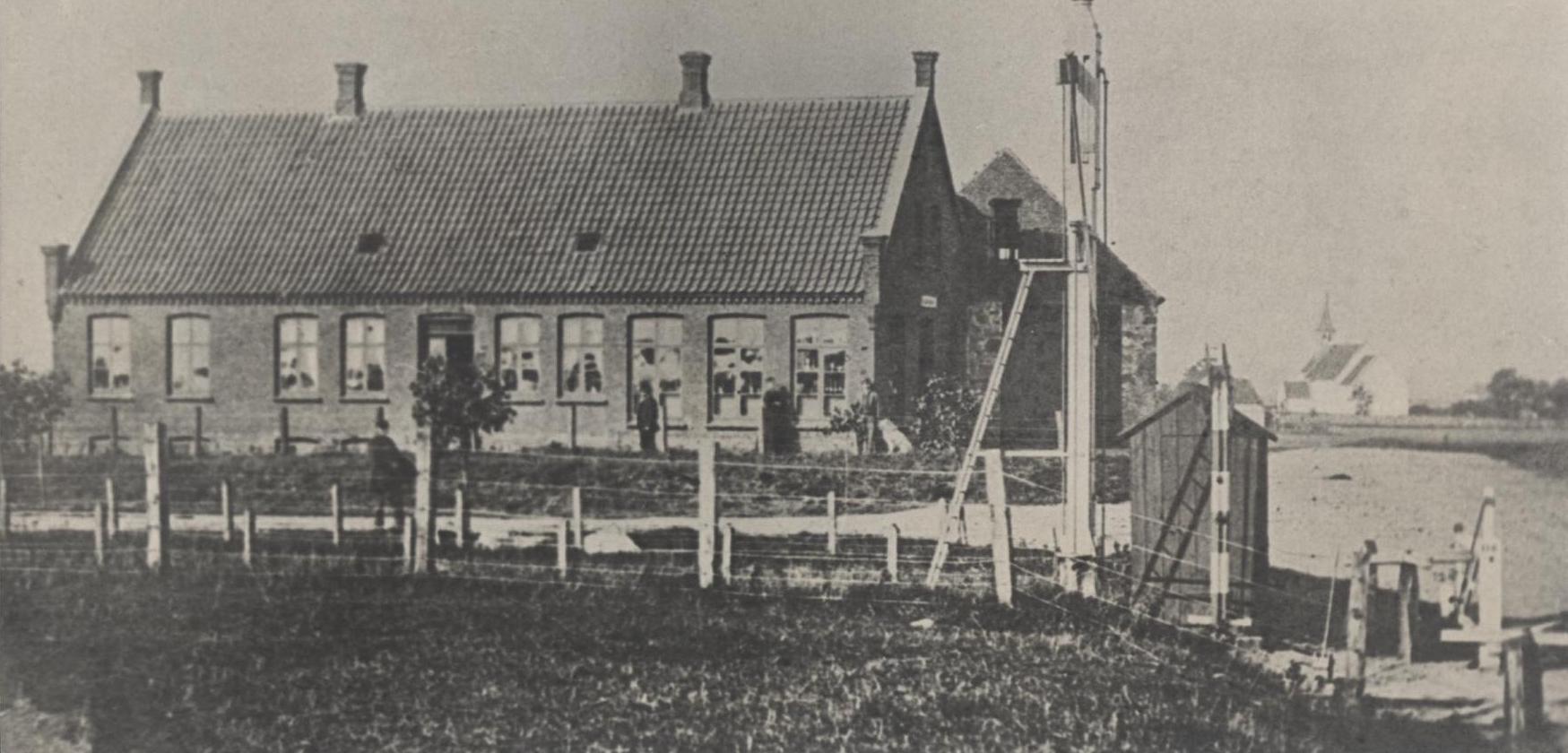 Gæstgivergården ældste billede