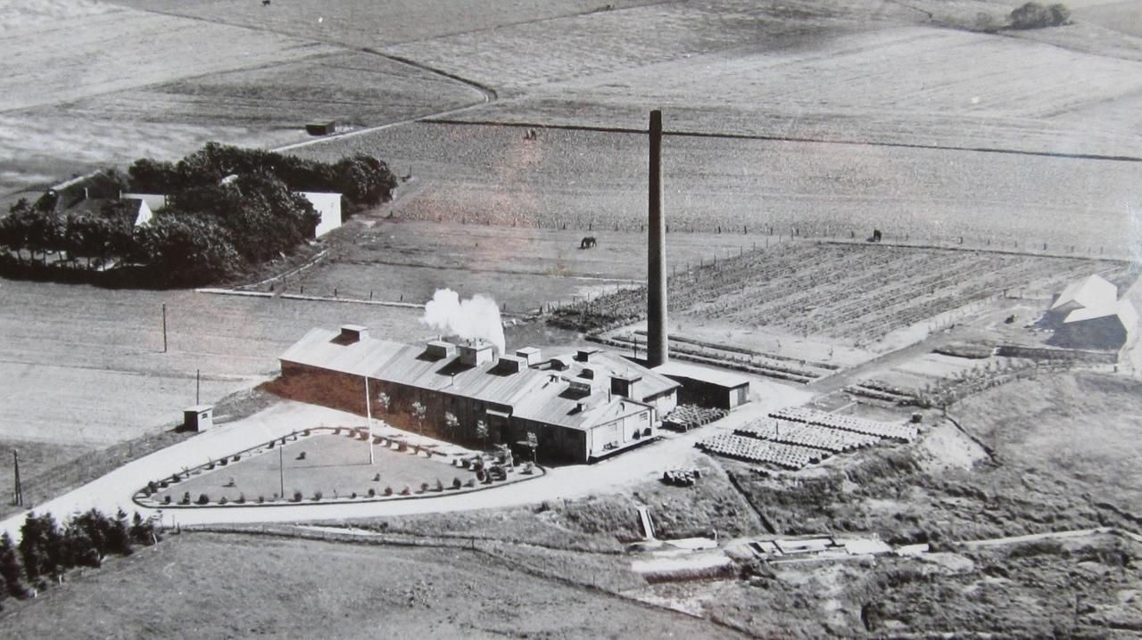 """Kødfoderfabrikken """"Østjyden"""" 1960"""