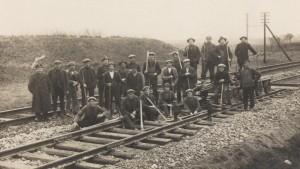 Jernbanearbejdere