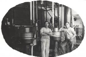 Centrifugerne var det tekniske grundlag for den store smørproduktion.