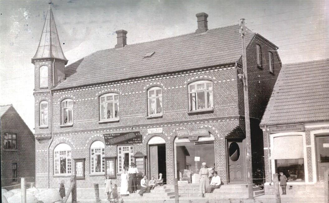 Tårnbygningen 1917