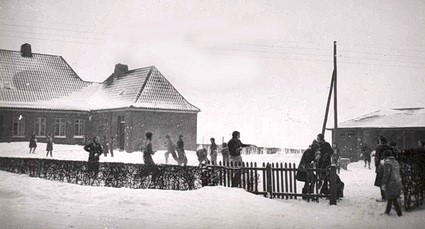 Den nye Over Barrit Skole, 1932-1956 – nuværende Børnehaven Tjørnebo