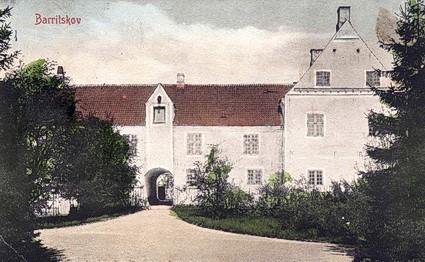 Det gamle Barritskov fra 1500-tallet, ca. 1910