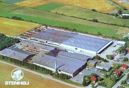 Stenhøj Maskinfabrik, ca. 1980.