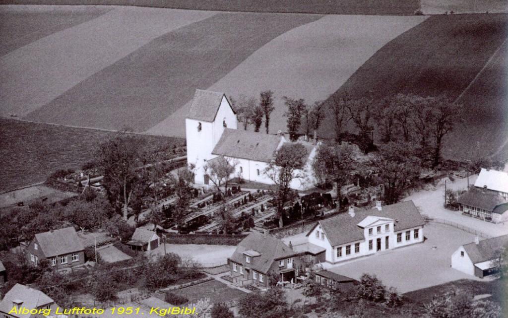 Bjerre Kirke og skole