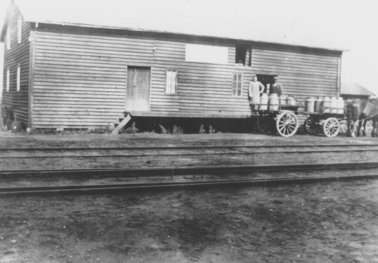Mælkevogn i 1930'erne