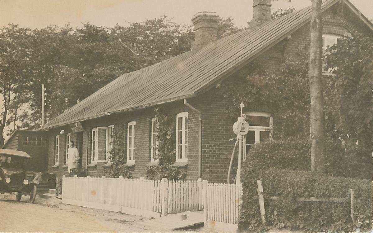 Huset år 1914