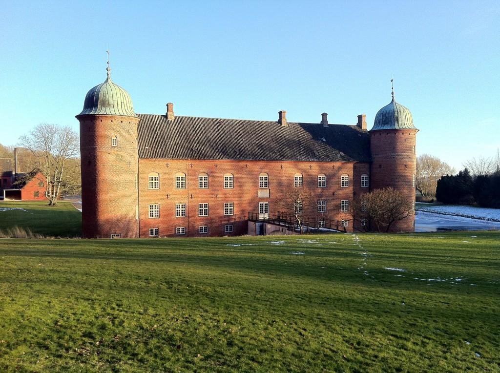 Rosenvold set fra vest - Foto: Mogens Dam, 2012