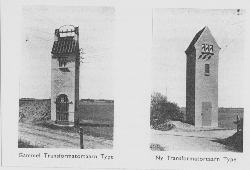 Typer af transformatortårne