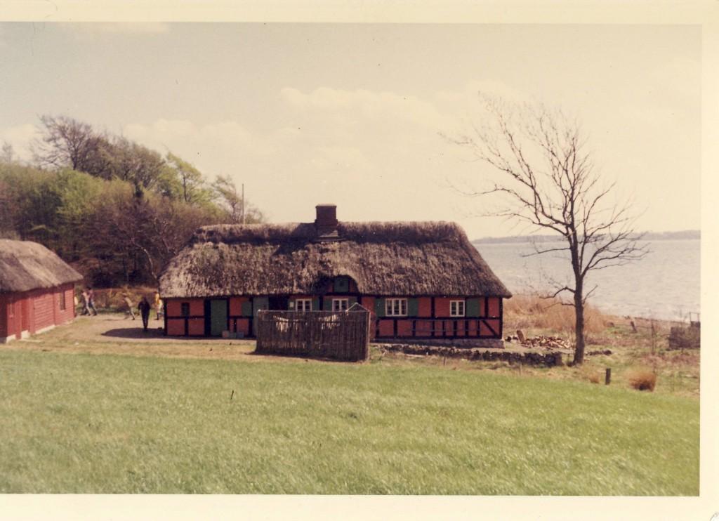 Fra tiden, hvor huset blev brugt af Kildebjerget som feriehytte.
