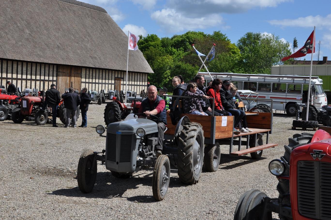 Ferguson Dage - en tur med Henrik bag rattet er en oplevelse !
